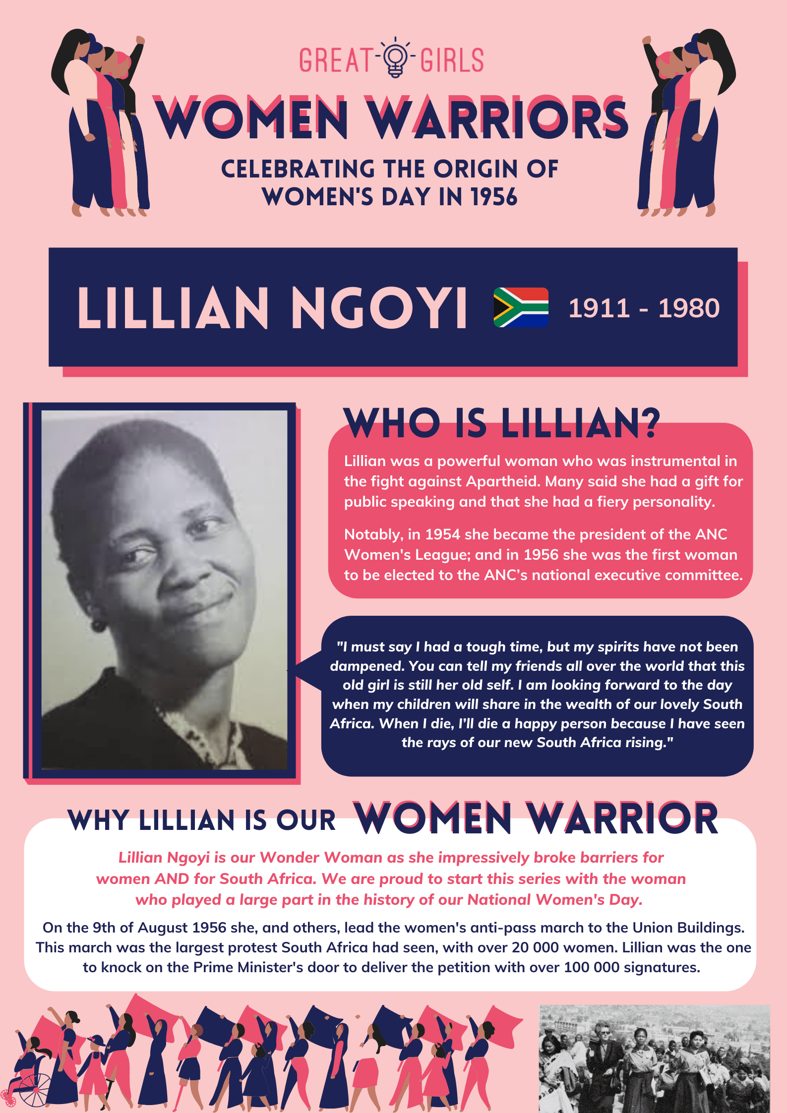 Women Warrior - Lillian Ngoyi