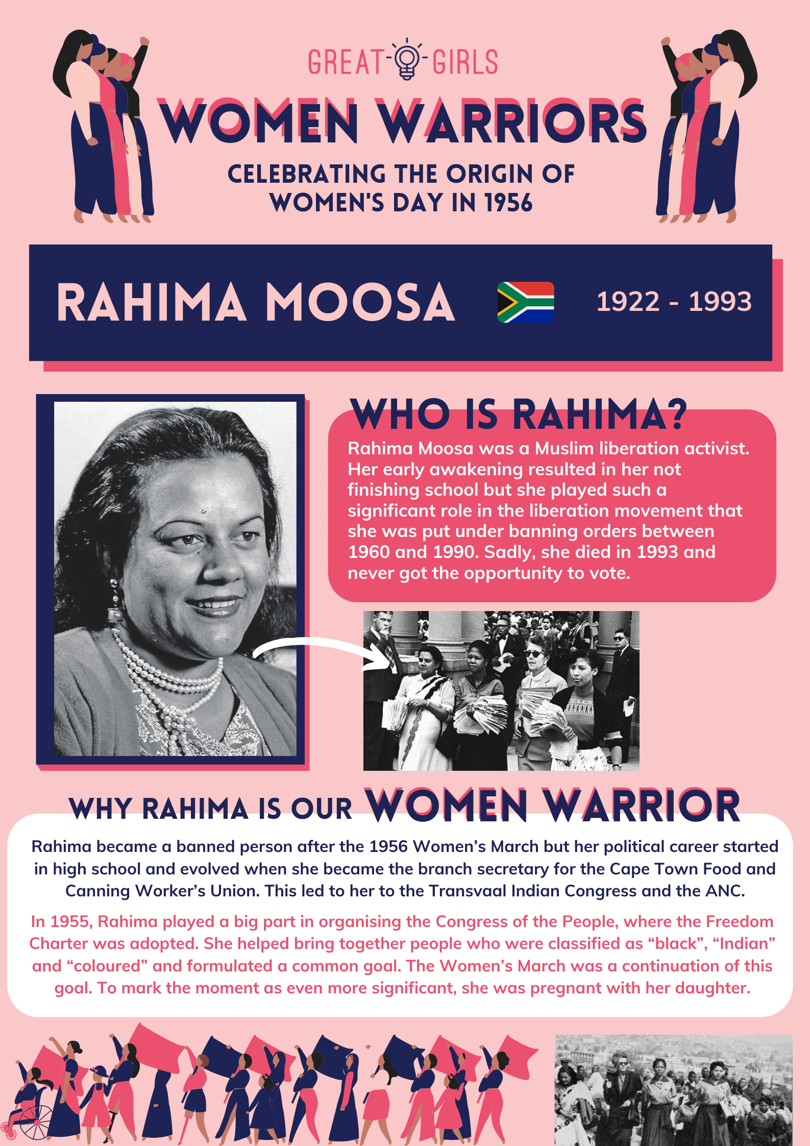 Women Warrior - Rahima Moosa