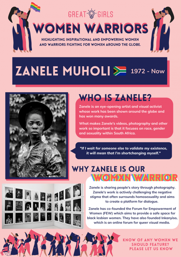 Women Warrior - Zanele Muholi