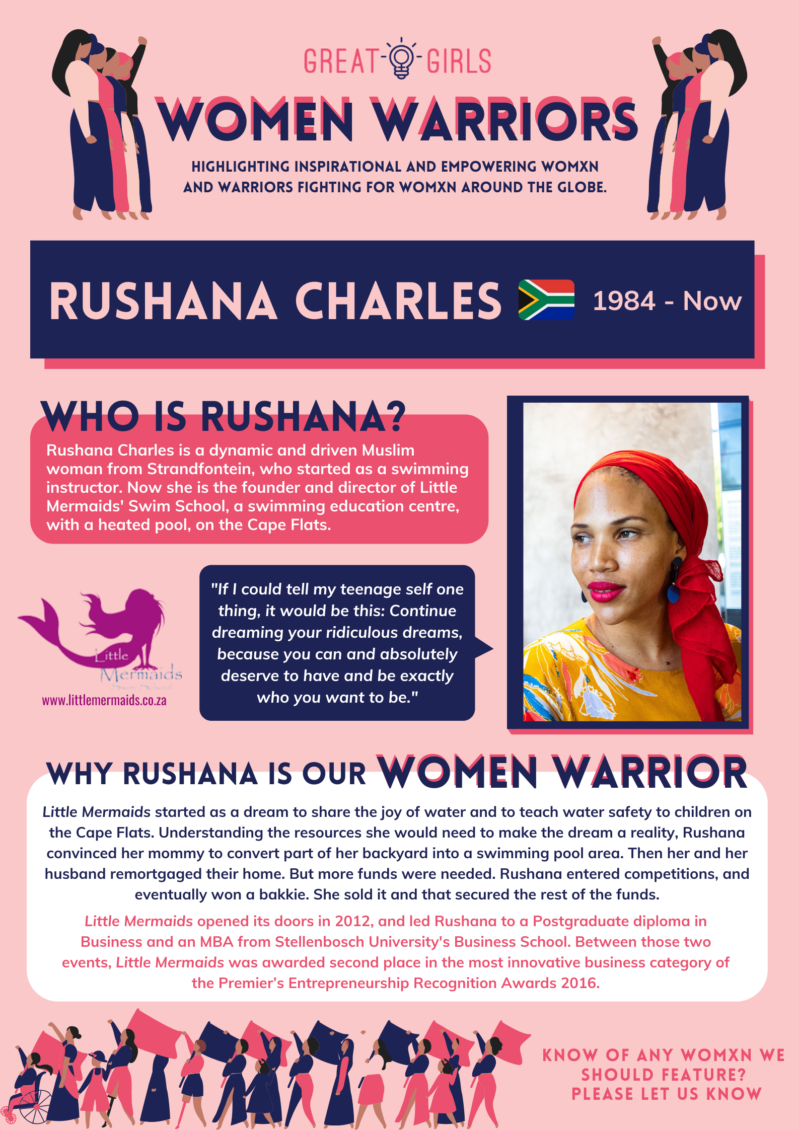 Women Warrior - Rushana Charles