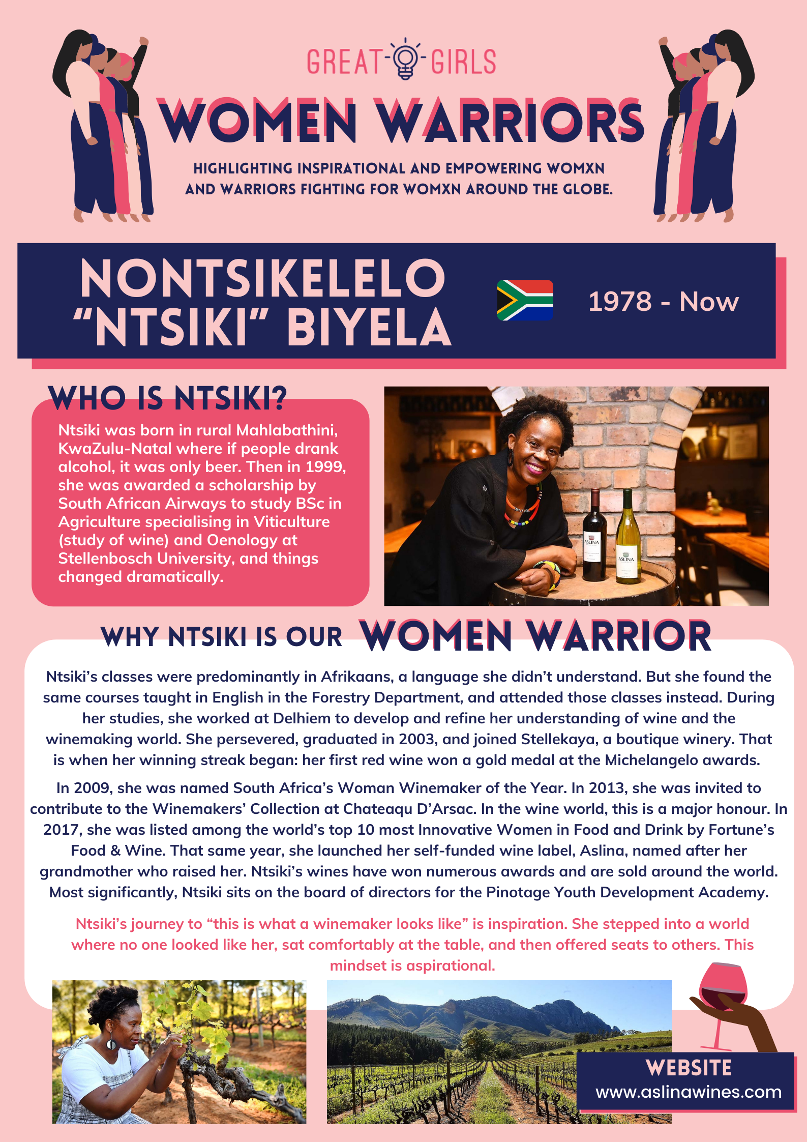 Women Warrior - Nontsikelelo Biyela